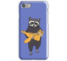 Racoon and Kitty iPhone Case/Skin