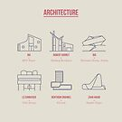 Architecture Line Design by Simon Alenius