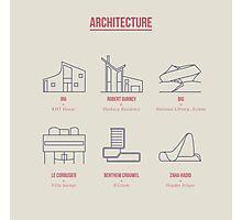 Architecture Line Design Photographic Print