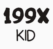 199X Kid [Black] by imjesuschrist
