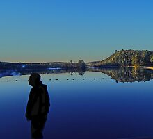 Silloutte by the Lake by hammye01