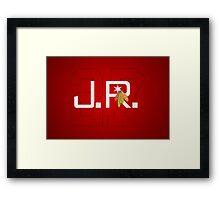 J.R. Framed Print