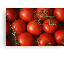 Ruby Red Tomatoes Canvas Print