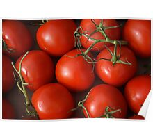 Ruby Red Tomatoes Poster