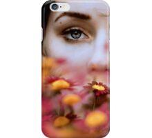 behind flowers iPhone Case/Skin
