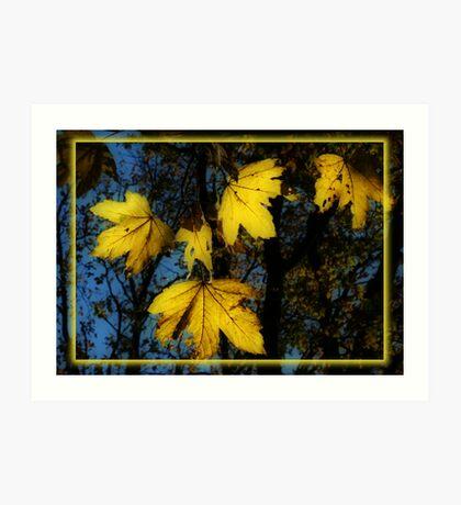Golden Gifts Art Print