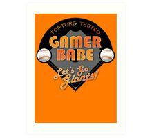 Torture Tested Gamer Babe 2 Art Print