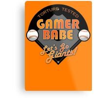 Torture Tested Gamer Babe 2 Metal Print