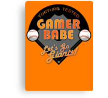 Torture Tested Gamer Babe 2 Canvas Print