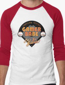 Torture Tested Gamer Babe 2 Men's Baseball ¾ T-Shirt