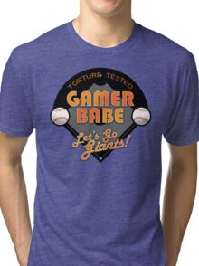 Torture Tested Gamer Babe 2 Tri-blend T-Shirt