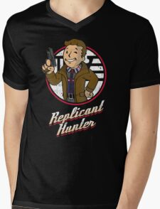 Replicant Hunter Mens V-Neck T-Shirt