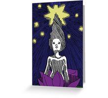 The Star Art Print Greeting Card