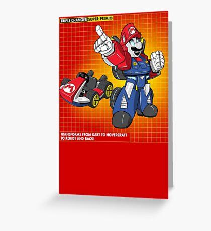 Super Primio Greeting Card