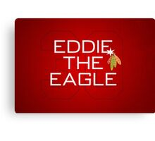 Eddie the Eagle Canvas Print