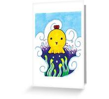 Dumbo Octopus Greeting Card