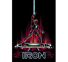 IRON-TRON Photographic Print