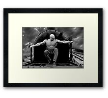 MISSION IMPOSSIBLE Framed Print