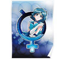 Sailor Mercury - Crystal Planet edit. Poster