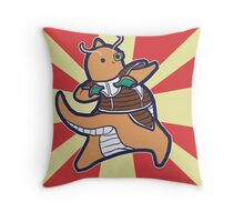 Dragonite of the Ginyu Force Throw Pillow