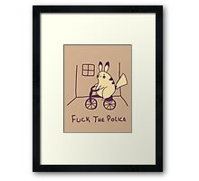 Fuck the Police Framed Print