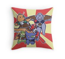 Pokemon Ginyu Force! Throw Pillow