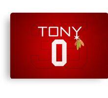 Tony 0 Canvas Print