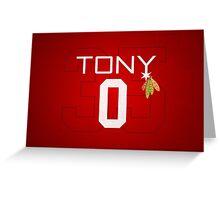 Tony 0 Greeting Card