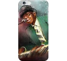 Pinetop Perkins iPhone Case/Skin
