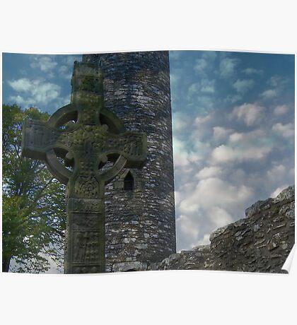 Muiredach's Cross - Monasterboice Poster