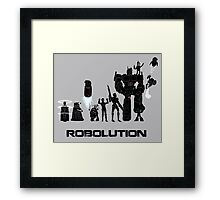 Robolution Framed Print
