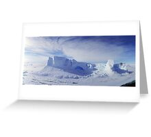 Grounded Berg Greeting Card