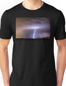 Lightning Strikes Following the Rain  Unisex T-Shirt