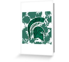 Michigan State Greeting Card