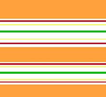 Red, Orange, Yellow, and Green by redplatypus