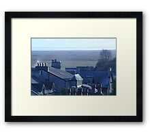 Chimneys & Rooftops Framed Print