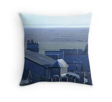 Chimneys & Rooftops Throw Pillow