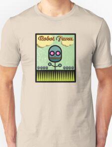 Robot Farm Unisex T-Shirt