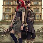 Steampunk Ladies by gosteampunk