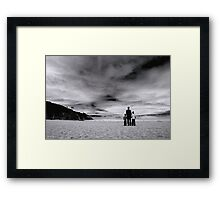 That's awesome dad! Framed Print