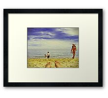 Lazy Daze Framed Print