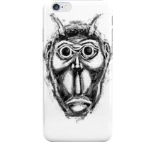Cockroach humanoid (black ink) iPhone Case/Skin