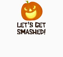 Let's Get Smashed Halloween Party Womens Fitted T-Shirt