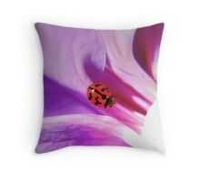 My ladybird Throw Pillow