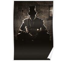 Mysterious Steam Punk Man Poster
