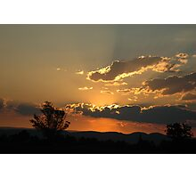 sunset 10 Photographic Print