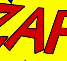 ZAP! Sticker