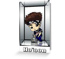 Hojoon Anniversary Greeting Card