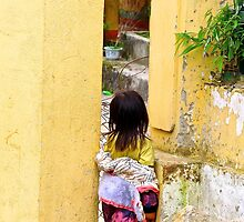 Secret Passage - Sa Pa, Vietnam. by Tiffany Lenoir
