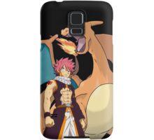 Natsu and Charizard Samsung Galaxy Case/Skin